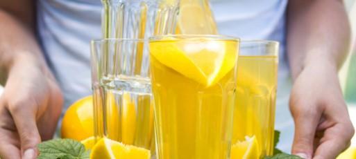 Água de Limão Siciliano e Gengibre