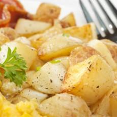 Batatas Sauté com Alecrim e Mostarda