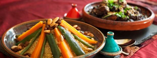 Marrakesh e a cozinha marroquina