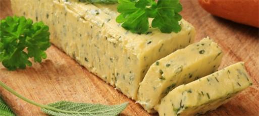 Receita de Manteiga de Ervas