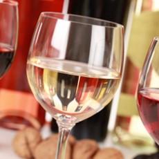 As taças e seus vinhos