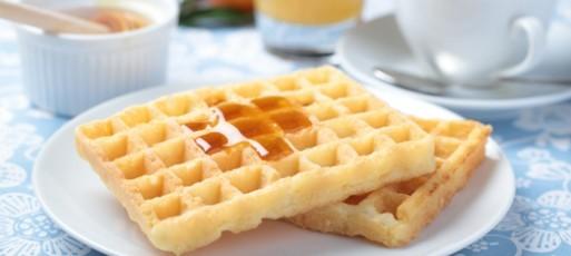 waffle de pão de queijo